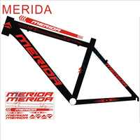 Road bike MTB Reflective Frame decal for bikes mountain cycling protector sticker bicicleta wheel fork bicycle reflex stickers