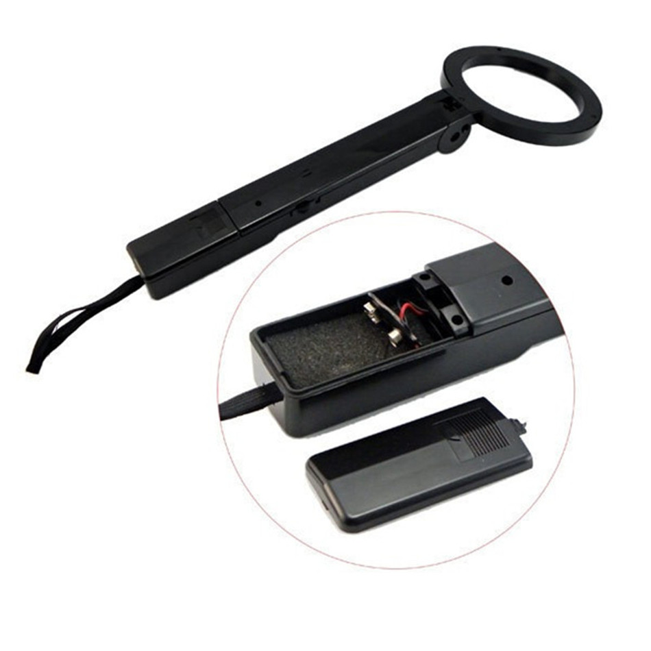 TS-80 Professional Portable Handheld Metal Detector Mgold Scanner Tool Finder Airports Railway Stations Docks