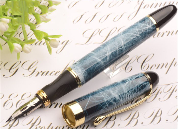 High quality G NIB metal Modified Caneta calligraphy Round Body Flower body English Fountain Pen Stationery Substitute dip pen high quality stylo plume vintage iraurita fountain pen ink pen nib calligraphy penna stilografica stationery caneta vulpen 03832