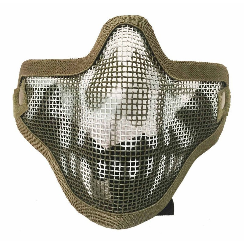 Outdoor War Games CS Paintball Party Half Face Mask Tactics Camouflage Hunt Mask Phantom Military Tactical Equipment
