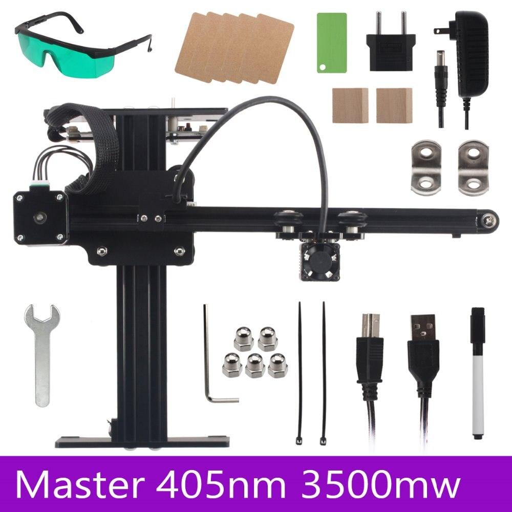 NEJE Master 405nm 3500mw Laser Wood Engraving Machine / Laser Cutting Engraving Machine / Wood RouterNEJE Master 405nm 3500mw Laser Wood Engraving Machine / Laser Cutting Engraving Machine / Wood Router