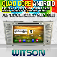 WITSON S160 Quad-Core Android 4.4 CAR DVD Player for TOYOTA CAMRY bluetooth radio Capctive Screen GPS Car Stereo mirror link