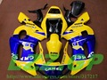 Injection Blue yellow bodywork for Yamaha YZF-R6 98-02 YZF R6 98 99 00 01 02 YZF 600 R6 1998 99 00 01 2002 ABS fairing kits