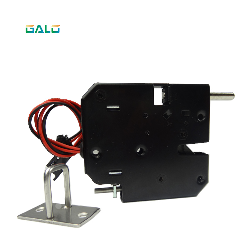 DC 12V 2A Solenoid Electromagnetic Electric Control Cabinet Drawer Lockers Lock Latch Push-push Design
