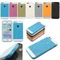 New Luxury Bling Glitter Shimmering Soft Skin Glam Plastic Back Cover Case Shell For Apple iPhone 5 5S 5G Cell Phone Case SJK003