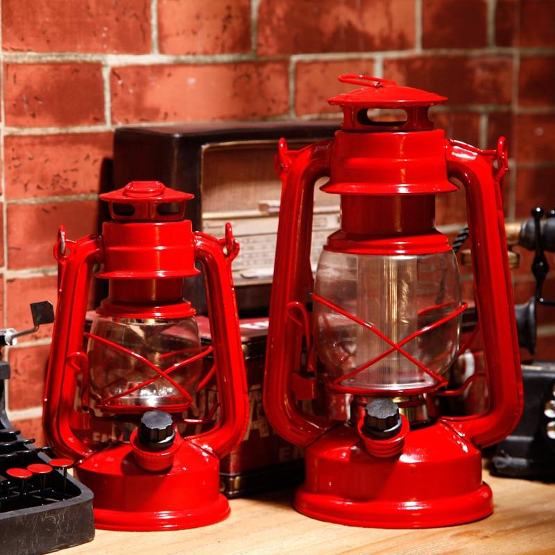 Commercial Table Lamps: Retro Vintage LED Kerosene Table Lamp Cabinet Hotel