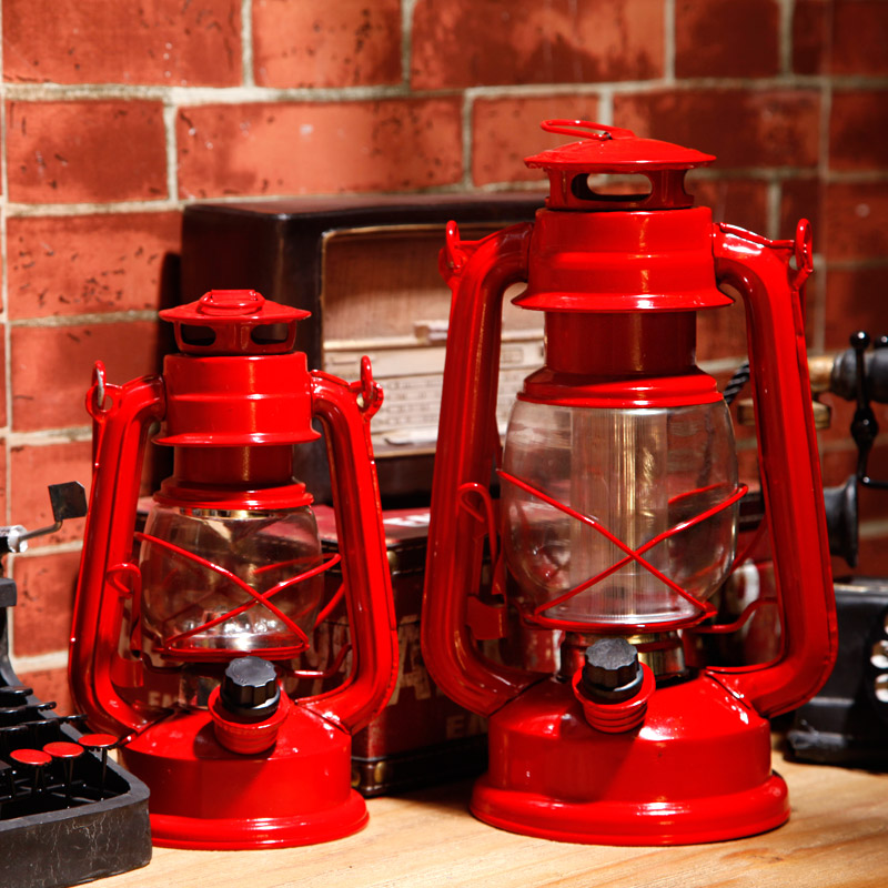 Retro Vintage LED kerosene table lamp cabinet hotel restaurant decoration decoration indoor decoration desk lamps ZA81045