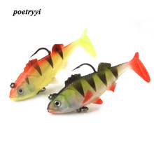 Fishing wobblers package lead fish T tail leopard 2 colors 6.5cm10g  fishing bait isca artificial pesca bionic 30