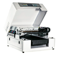 UV printer embossed effect A3 LED UV printer UV flatbed printing machine for candle printing