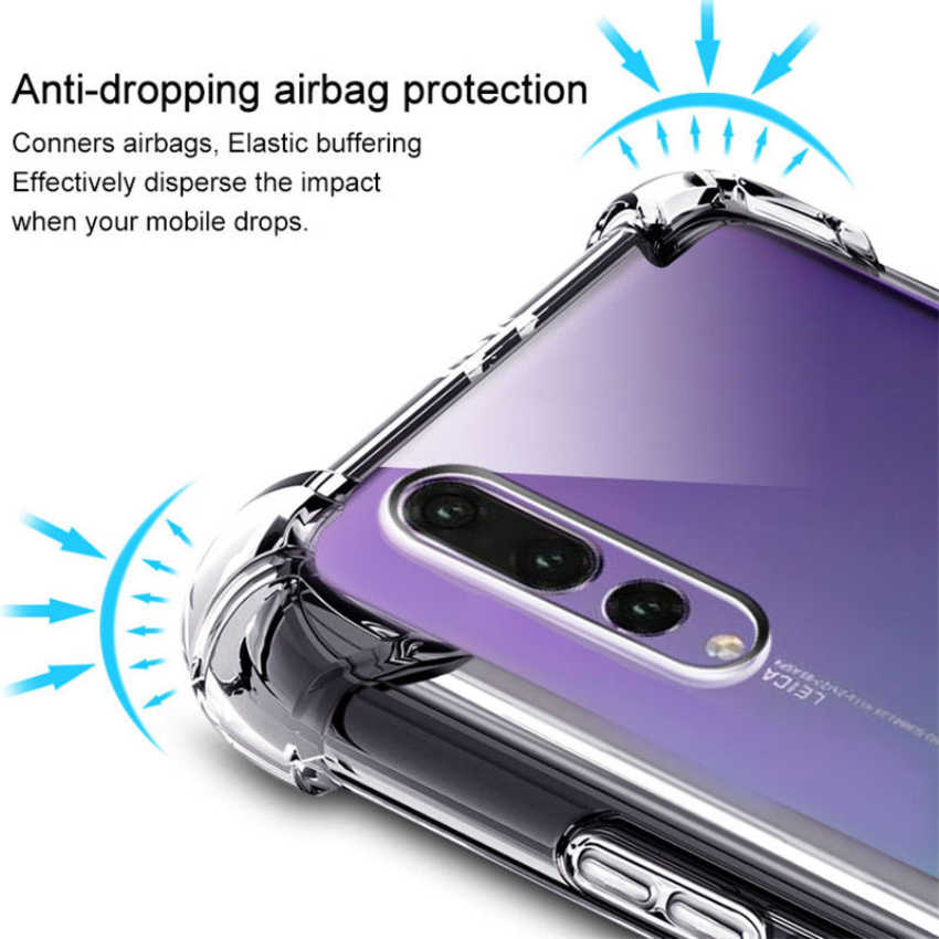 For Huawei P20 Pro P10 lite 2017 Mate 9 10 Pro lite Nova 2 2i Honor 6A 6/7X 9 6C 8 Pro Case Shockproof TPU Clear Silicone Cases