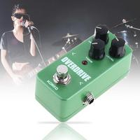 KOKKO Portable Electric Guitar Bass Effect Pedal OVERDRIVE Delivers Warm Natural Overdrive Sound True Bypass Full Metal Shell