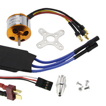 Brushless Motor A2212-2200KV+ 40A ESC+Motor Mount For RC Helicopter /Airplane