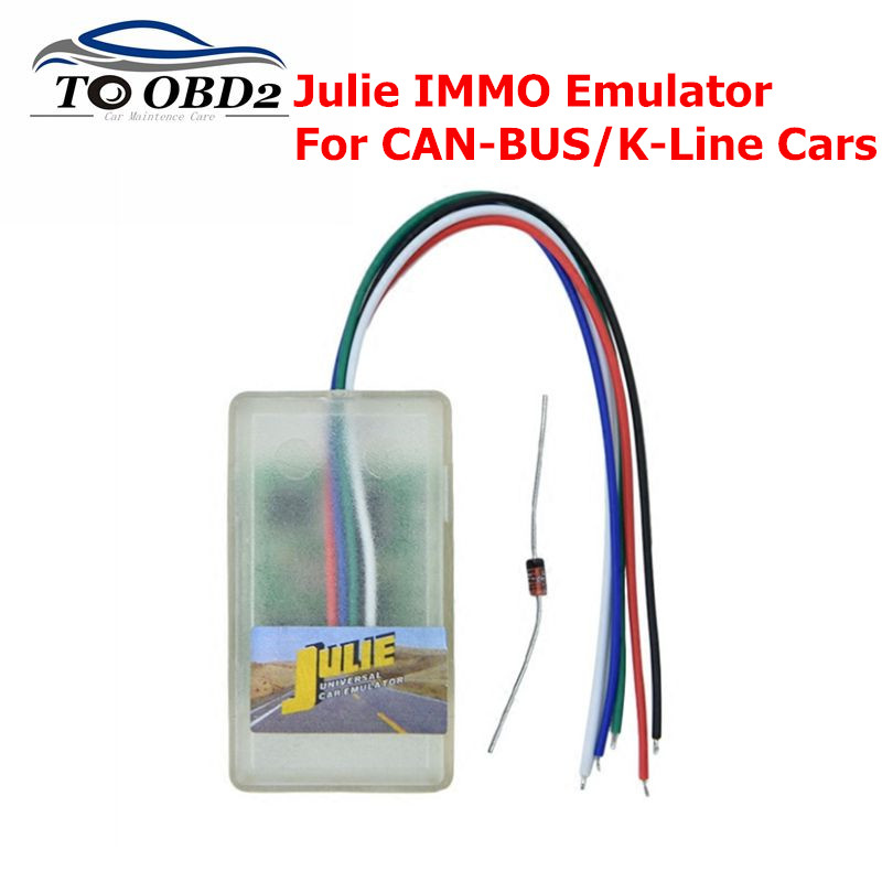 JULIE Emulator New Universal IMMO Emulator For CAN-BUS /K-Line Cars Support For Audi,For BMW,  Ect Julie IMMO OBD2 Diagnostic