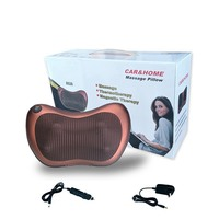 Home Car Shiatsu Massage Pillow Device with Heating Electric Multifunctional Neck Shoulder Waist Relax Pain Relieve MP0205