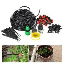 WINOMO 25M Garden Irrigation Drip System 30-Dripper Plant Watering System DIY for Garden Landscape Flower Bed Patio Plants(China)