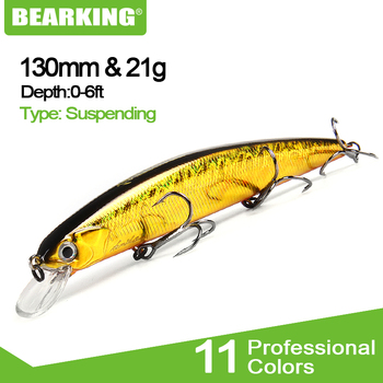 Best No1 BEARKING for artificial fishing lures how to use minnow quality