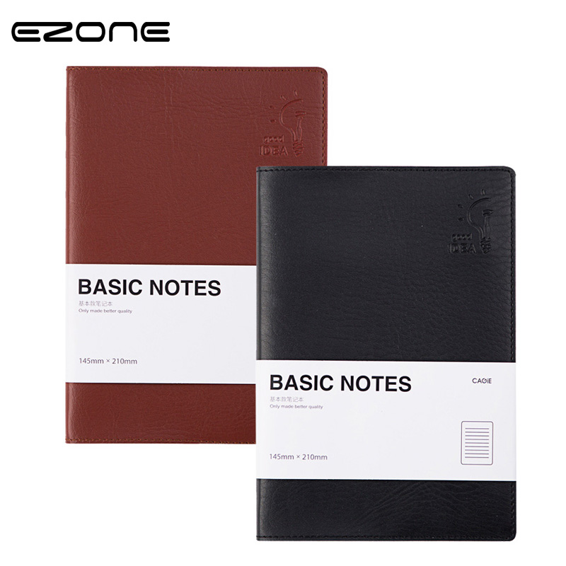 EZONE Brief Style Notebook 2018 New Planner Note Book Notepad Traveler Journey Diary School Office Supplies Material Escolar brief adolescent therapy homework planner