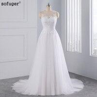 Vintage Straps 2016 New A Line Wedding Dress Vestidos De Noiva White Ivory Chiffon Bridal Gowns
