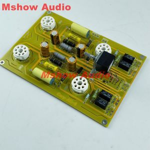 Image 3 - Famous circuit 6SN7 Tube preamplifier DIY KIT refer Cary AE 1 preamp HIFI audio option bare pcb board pre amp