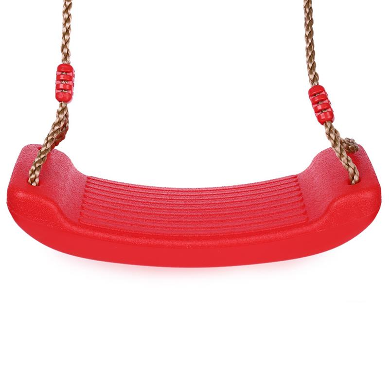 Playground Useful Runacc Playground Swing Heavy-duty Swing Seat Anti-slip Plastic Swing Seat With Adjustable Hemp Rope For Adults And Kids Providing Amenities For The People; Making Life Easier For The Population