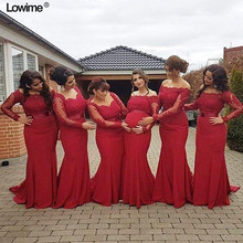 Lowime 2018 Arabic African Bridesmaid Dresses Prom Dress. US  89.24   piece Free  Shipping 11077049e182