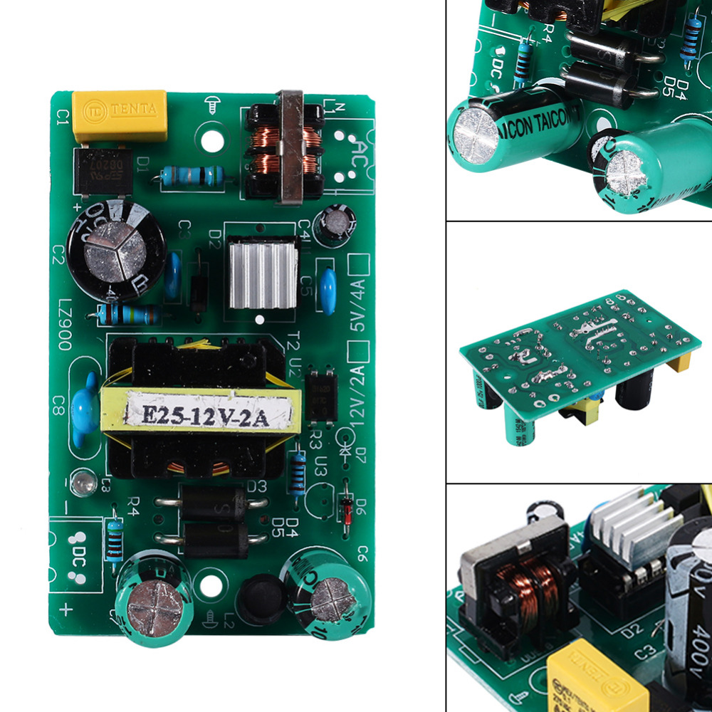 2A 12V Power Module Switching Power Supply Board AC DC Power Module Transformer Well Working switching power supply module free