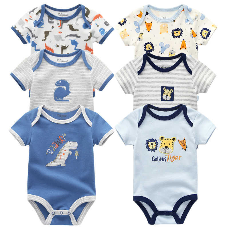 f7d2d0f48cba8 2019 Fantasia Infantil summer Romper Cartoon animal Baby Romper cotton baby  boy clothing baby winter clothes