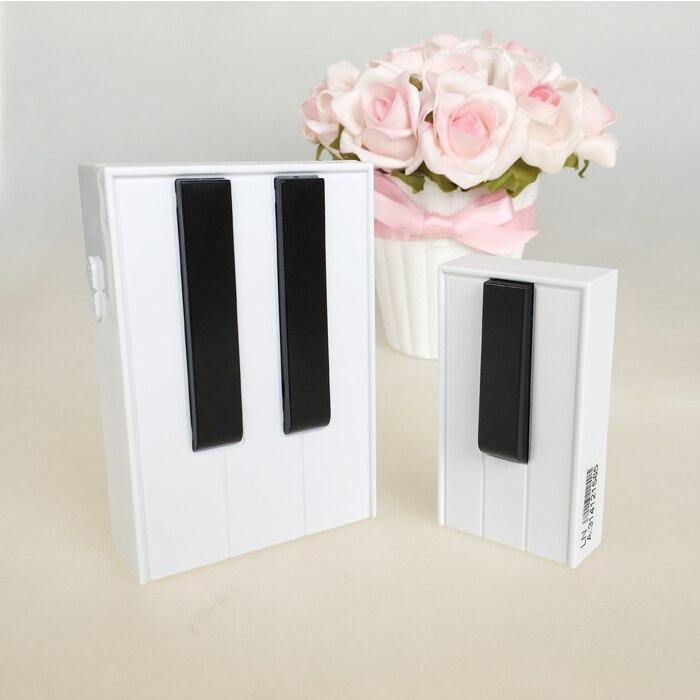 Piano Wireless Door Bell 1 Remote Control 1 digital Receiver Doorbell 1SET
