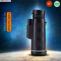 AIBOULLY Handheld Telescope 10X40 Zoom Wild Hunting Mini Bird Watching Eyepiece Outdoor Travel Monocular Magnifier Survival Tool