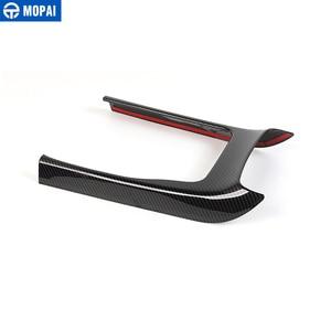 Image 5 - MOPAI ABS Auto Interno Console Gear Shift Pannello di Copertura Decorazione Assetto Adesivi Per Jeep Grand Cherokee 2014 Up Car Styling