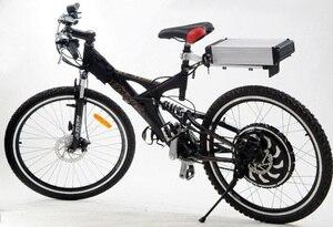 Image 5 - 무료 배송! 24V 36V 48V 전자 자전거 리튬 배터리 케이스 전기 자전거 리튬 이온 배터리 상자 배터리를 포함하지 않습니다