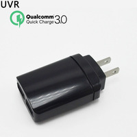 Original QC 3 0 USB Wall Quick Charger 2 Ports EU US Plug For IPhone Samsung