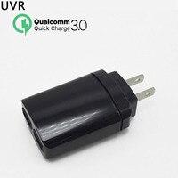 Original QC 3 0 USB Wall Quick Charger 2 Ports EU US Plug For IPhone Samsung