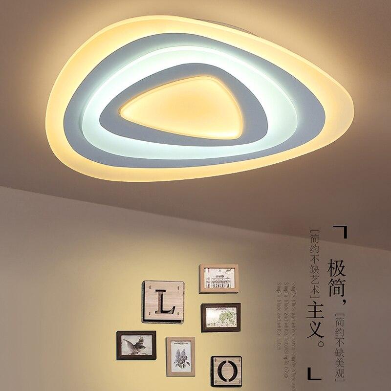 LICAN Modern Acrylic triangle Ceiling lights LED lamp for Living room Bedroom luminaire Home decor lighting fixtures 110V 2220V