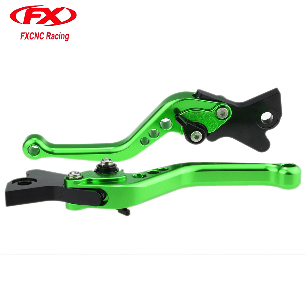 цена на FxCnc Motorcycle Short Brake Clutch Levers For YAMAHA YZ 250 80 125 490 IT 200 TW 200 TTR 250 Brake Levers and Motorcycle Clutch