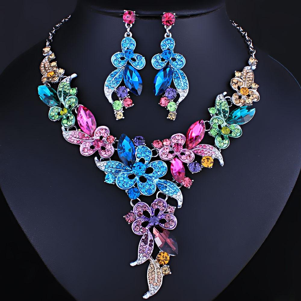 FARLENA Jewelry High Quality Crystal Glass Necklace ...
