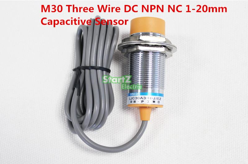 M30 Three Wire DC NPN NC 1-20mm distance measuring capacitive proximity switch sensor -LJC30A3-H-Z/AX proximity switch psn30 15dn2 npn normally closed 24 v dc three line