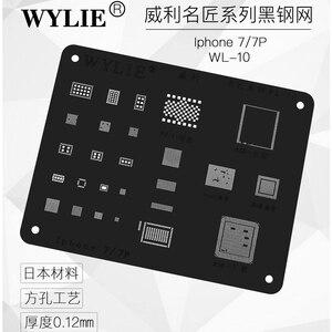Image 3 - High quality Chip BGA Reballing Stencil Kits Set Solder template for iphone 5 5s 6 6plus 6s 6splus 7 7plus 8/8 plus x xs max XR