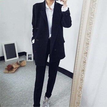 Customized new hot women's women's suit two-piece suit (jacket + pants) women's business formal office suit