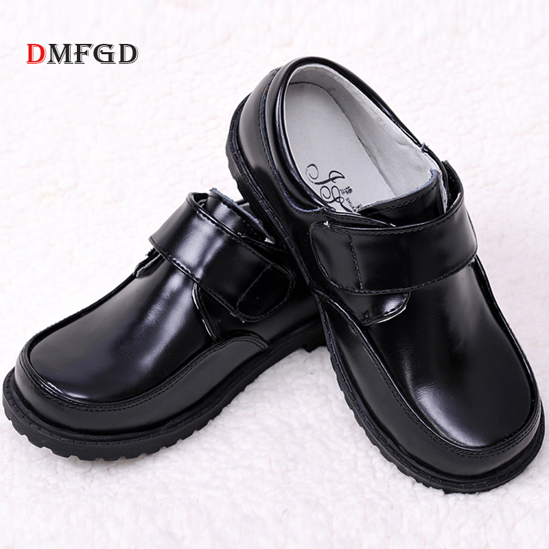 High Quality Childrens shoes leather boys shoes black school student shoes kids leather shoes for boy performance piano wedding