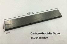 350x44x4 мм Графитовые Лопасти для Вакуумных Насосов/Углерода лезвия для Лопасти насосы