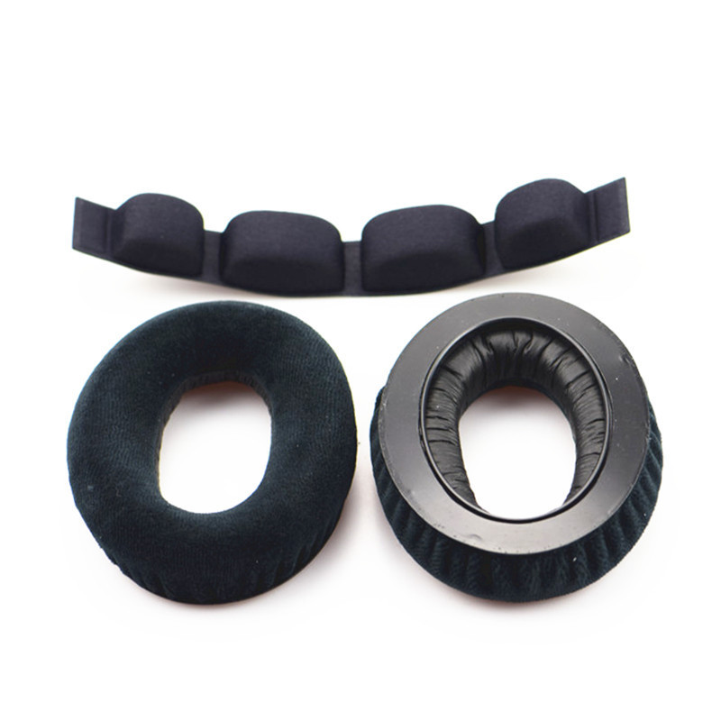 Replacement Ear Pads Headband Cushions For Senheiser HD545 HD565 HD580 HD600 HD650 HD 545 565 580 600 Headphones Headset EarPad