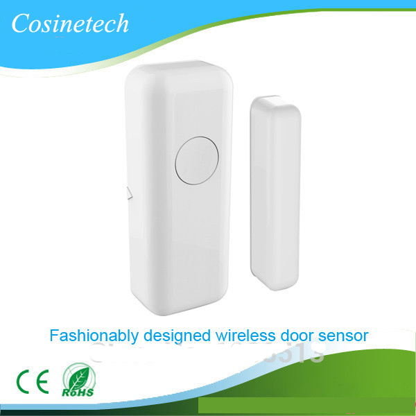 2 PCS in a lot Brand new 433Mhz door contact window/door magnetic sensor,fashionable magnet detector for security alarm systems smartyiba wireless door window sensor magnetic contact 433mhz door detector detect door open for home security alarm system