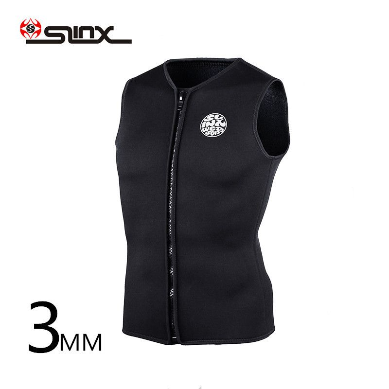 SLINX Wetsuit Vest Surf Diving 3mm Neoprene Sleeveless Outdoor Unisex