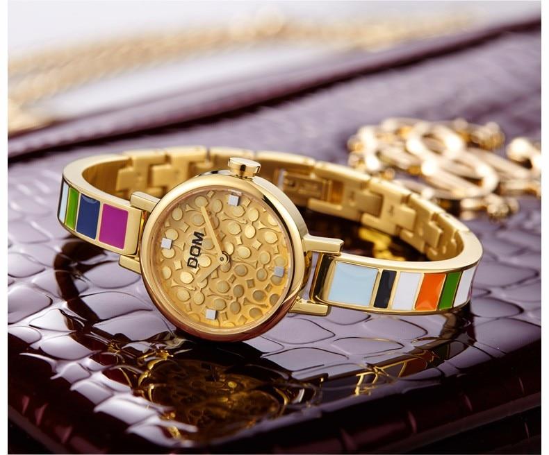 Relógio de Pulso Retro Rainbow Design Senhoras