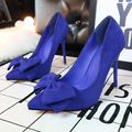 Sapatas das mulheres Bombas Saltos Doce Sapatos de Casamento Borboleta 2017 Senhoras Mulher Meninas Moda Salto Fino de Salto Alto Zapatos Mujer 34-39