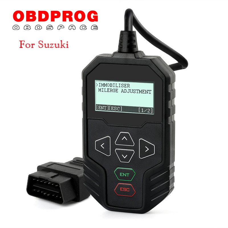 OBDPROG MT004 Adjust Odometer Immobiliser Auto Key Programmer For SUZUKI Change Mileage Adjustment Tool No PIN Code Key Coding