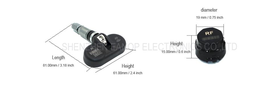size sensor