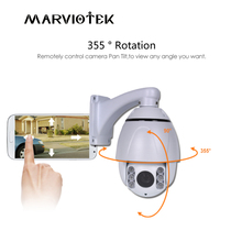 Mini 5MP IP PTZ Camera Network ONVIF 4X Zoom PTZ Speed Dome IP Camera CCTV Speed Dome Cameras IR Night Vision video surveillance