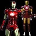 Homem de ferro Ironman Traje muscular figurinos de filmes de super-heróis onesies para adultos para o homem do dia das bruxas partido cosplay Presente De Aniversário D-1914